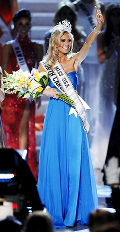 Kristen Dalton Miss USA 2009: Let's not make her an idol or an ideal