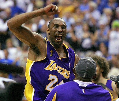 Kobe Bryant LA Lakers 2009 NBA Champions (Image courtesy watoday.com)